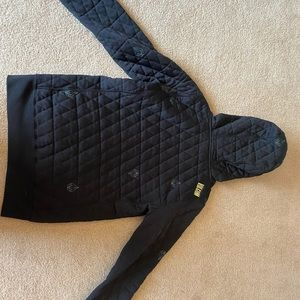 Volcom quilted jacker size xs